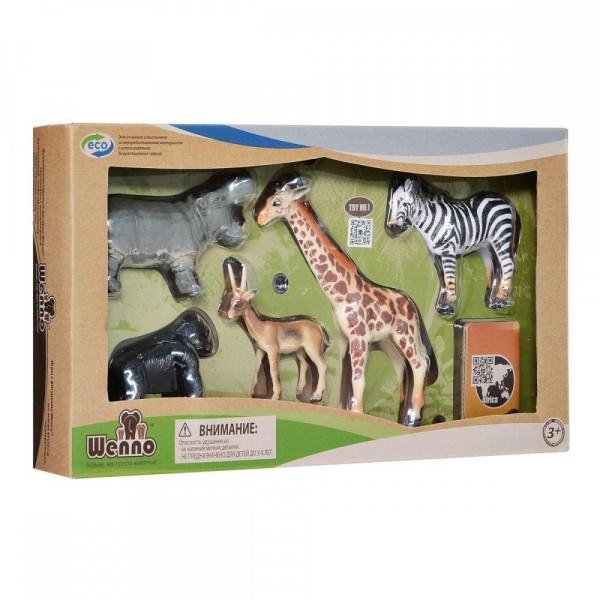 Wenno Животные Африки S2 с QR-картой (WAF1702) Wenno
