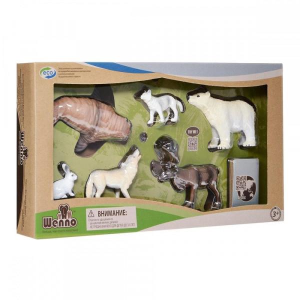 Wenno Животные Арктики с QR-картой (WAC1701) Wenno