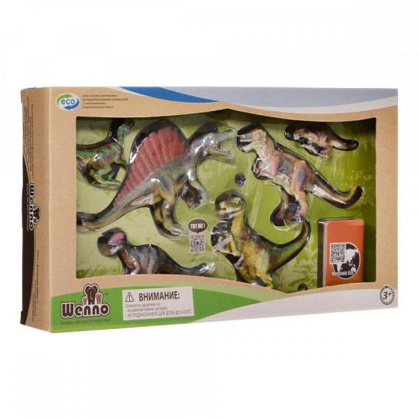 Wenno Хищные Динозавры с QR-картой (WCD1701) Wenno