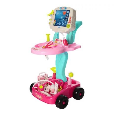 Bambi Тележка доктора  660-45 Pink Bambi