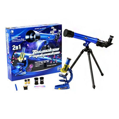 Limo Toy Микроскоп и подзорная труба CQ 031 Limo Toy