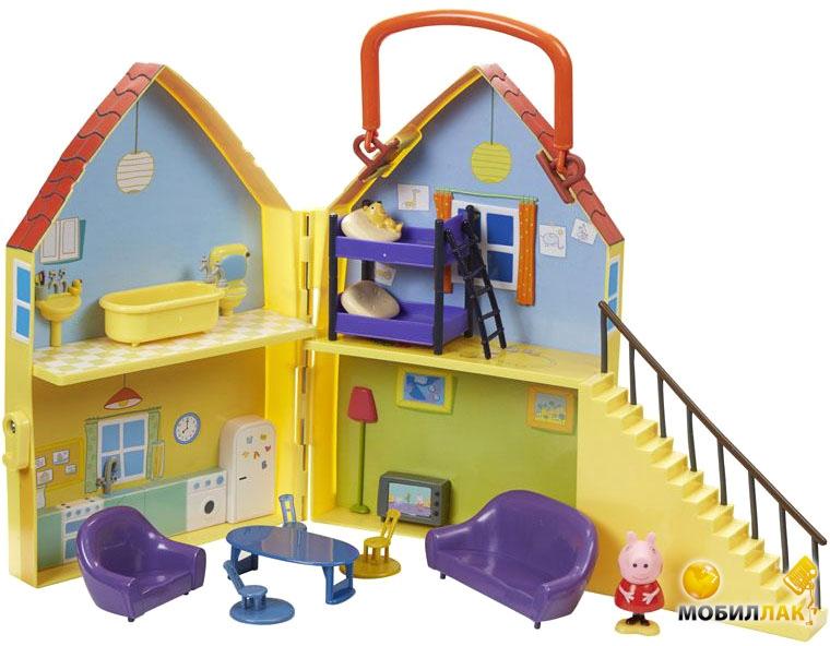 Peppa Дом Пеппы (домик с мебелью, фигурка Пеппы) Peppa