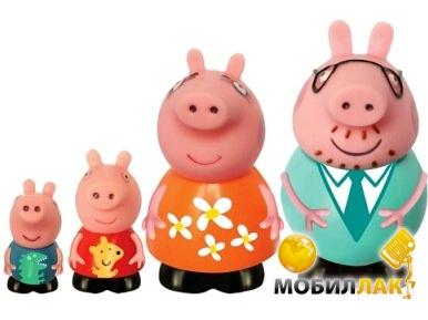 Peppa Семья Пеппы (4 фигурки) (25068) Peppa