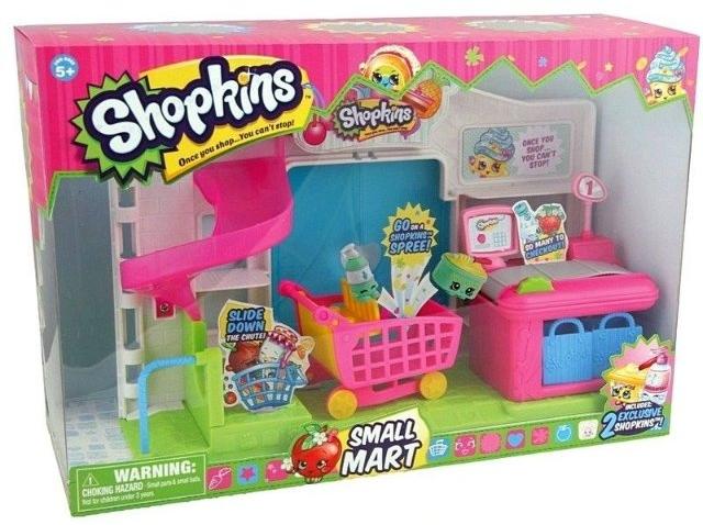 Shopkins Супермаркет S1 (2 эксклюзивных Шопкинса, аксессуары) (56008) Shopkins