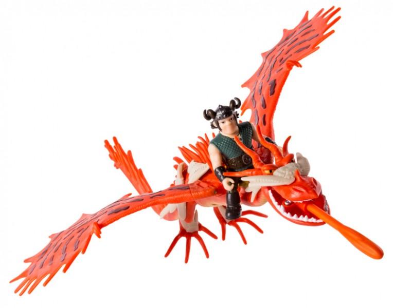 Spin Master Дракон Кривоклык с всадником Сморкалой (SM66607-1) Spin Master
