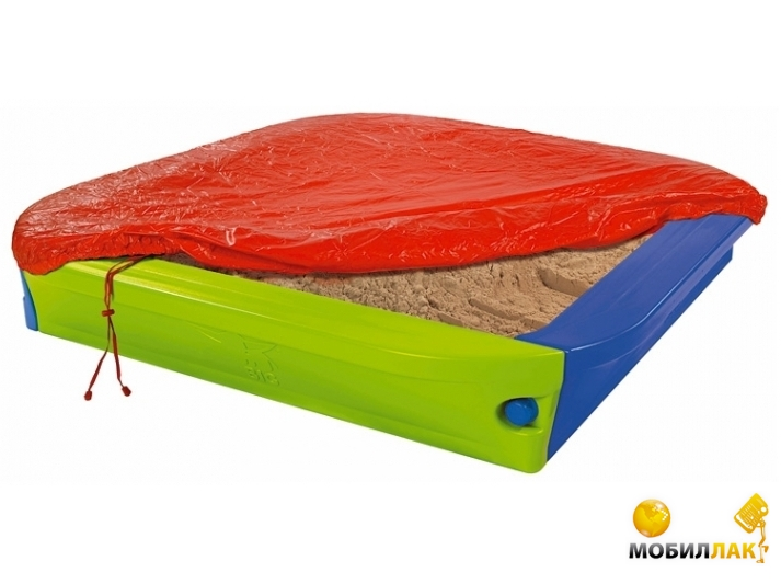 BIG Большая песочница с защитным покрытием (56726) MobilLuck.com.ua 3622.000