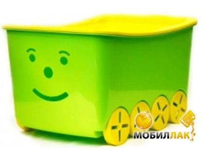 b82d2b0926bd Ящик для игрушек Tega Play 52L BQ-005 light green-yellow. Купить ...