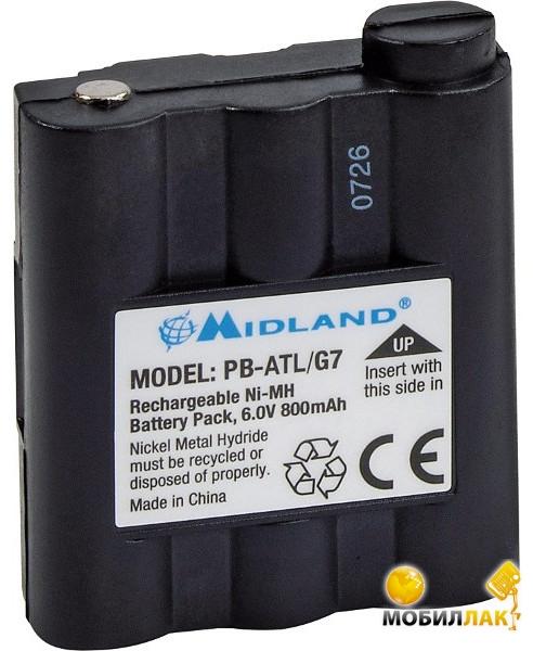 Midland PB-ATL/G7 1000 мАч, Ni-MH для G7 MobilLuck.com.ua 205.000