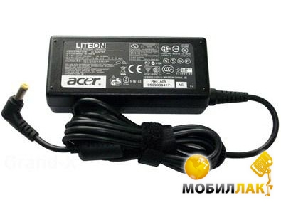 Блок питания для ноутбука 65W AC Adapter Acer (PA-1650-02/ADP-65 JH DB/BB)