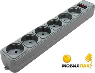 Gembird 4.5м , 6 розеток Gray (SPG6-G-15G) MobilLuck.com.ua 58.000