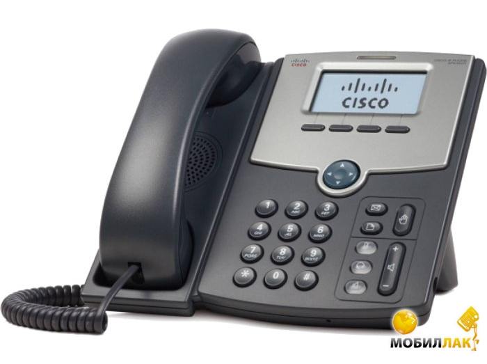Cisco SB 1 Line IP Phone With Display, PoE, PC Port MobilLuck.com.ua 2345.000
