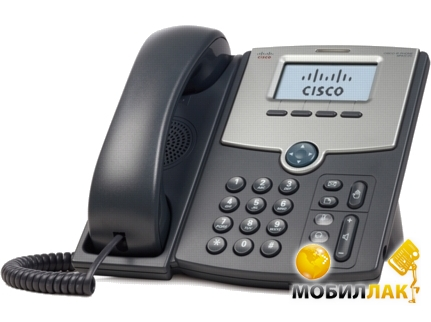Cisco SB 1 Line IP Phone with Display, PoE and Gigabit PC Port MobilLuck.com.ua 2774.000