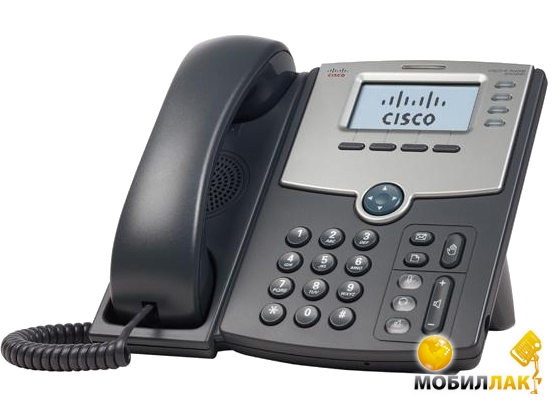 Cisco SB 4 Line IP Phone With Display, PoE and PC Port MobilLuck.com.ua 2703.000