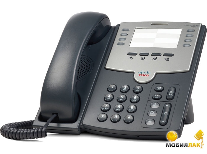 Cisco SB 8 Line IP Phone With PoE and PC Port MobilLuck.com.ua 1931.000