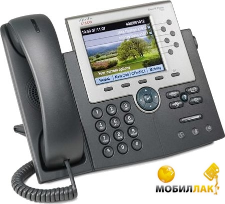 Cisco UC Phone 7965, Gig Ethernet, Color, spare MobilLuck.com.ua 8866.000