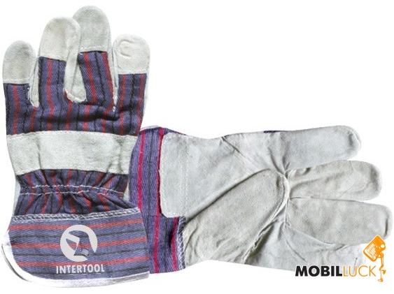 Intertool SP-0150 Перчатка замшевая комбинированная MobilLuck.com.ua 36.000