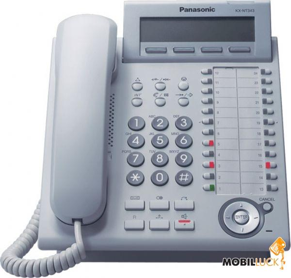 Panasonic KX-NT343RU White MobilLuck.com.ua 2402.000