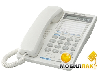 Panasonic KX-TS2368UAW White (двухлинейный) MobilLuck.com.ua 920.000