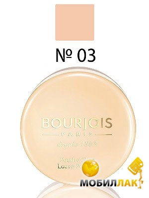Пудра рассыпчатая Bourjois Poudre Libre №03 светлый загар 32г(3052503610337)