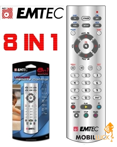 универсальный пульт Emtec инструкция - фото 6