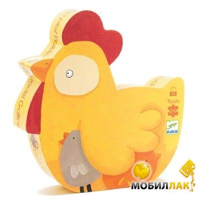 Djeco Пазл 24 Курочка Ко Ко (DJ07217) MobilLuck.com.ua 179.000