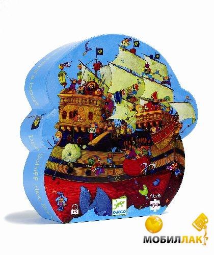 Djeco Пазл 54 Корабль Барбадоса (DJ07241) MobilLuck.com.ua 179.000