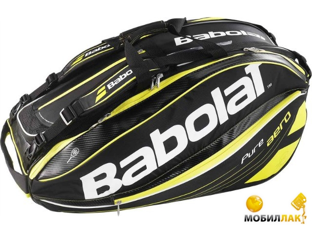 babolat Babolat RH X 12 Pure Aero yellow 2015 year 751100/113