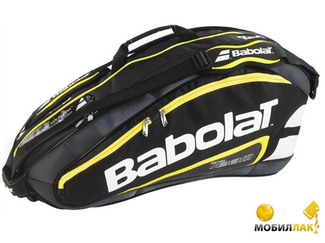babolat Babolat RH X 6 team line black/yellow 2015 year 751091/142