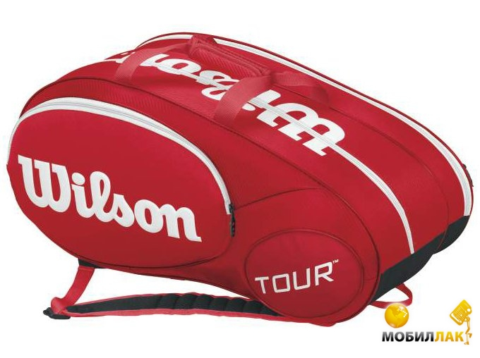 wilson Wilson Mini tour 6pk bag rd 2015 WRZ642506