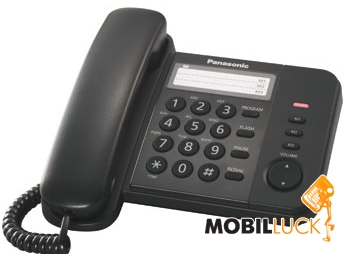 Panasonic KX-TS2352UAB Black MobilLuck.com.ua 199.000