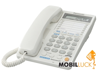 Panasonic KX-TS2368RUW White (двухлинейный) MobilLuck.com.ua 849.000