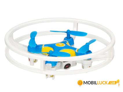 Квадрокоптер Bao Niu HC627WF Cam Blue-yellow
