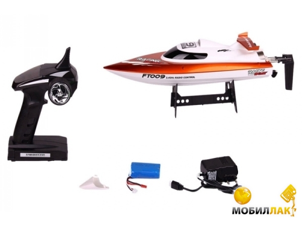 Fei Lun Катер на радиоуправлении High Speed Boat FT009 2.4GHz (оранжевый) (FL-FT009o) MobilLuck.com.ua 1110.000