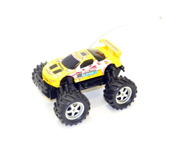 Limo Toy Ралли Спринт Желтый (6568-323/9005) Limo Toy