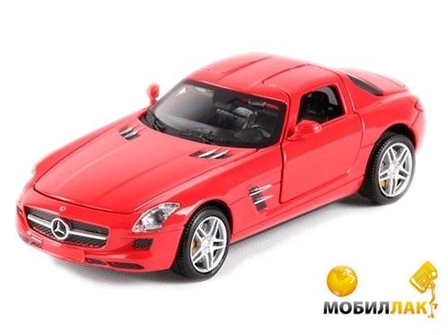 Meizhi Машинка р/у 1:24 Meizhi лиценз. Mercedes-Benz SLS AMG металлическая (красный) (MZ-25046Аr) MobilLuck.com.ua 440.000