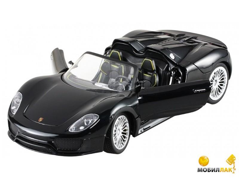 Meizhi Машинка р/у 1:24 Meizhi лиценз. Porsche 918 металлическая (черный) (MZ-25045Ab) MobilLuck.com.ua 440.000