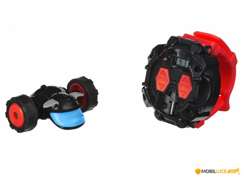 Машинка на радиоуправлении New Bright Watchdog CLOCK Red (3703U)