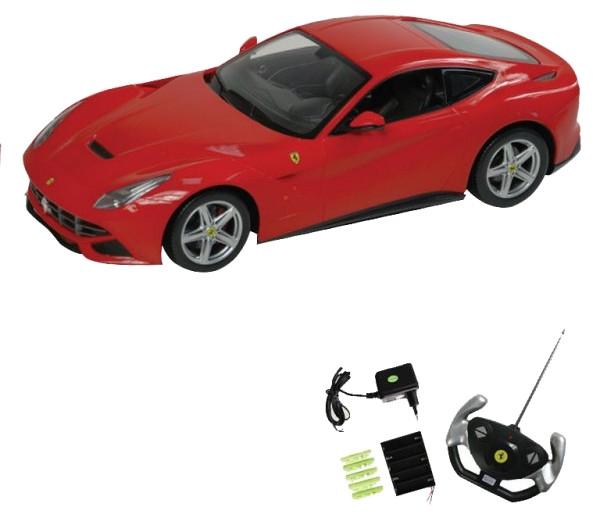 Машина радиоуправляемая Rastar Ferrari F12 Red