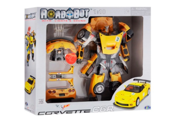 Roadbot Chevrolet Corvette C6R 1:18 Roadbot