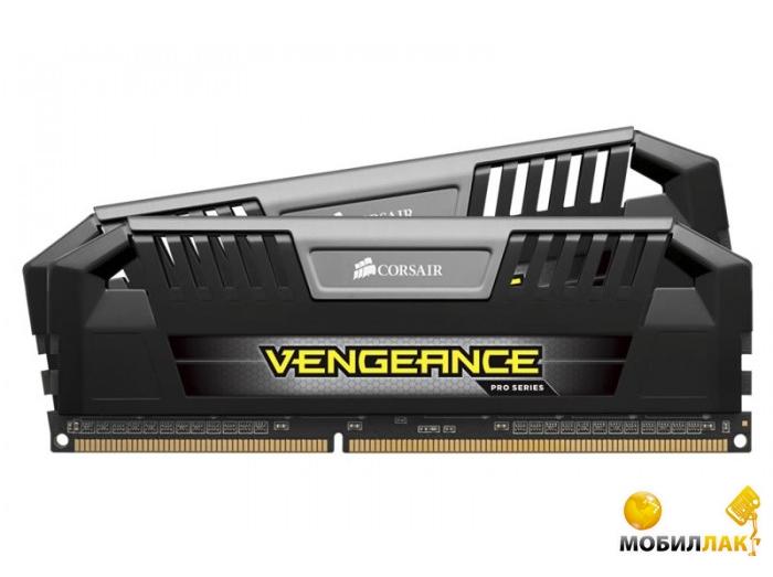 Corsair DDR3 8Gb (2x4GB) 1600Mhz Vengeance PRO Black (CMY8GX3M2A1600C9) MobilLuck.com.ua 1551.000
