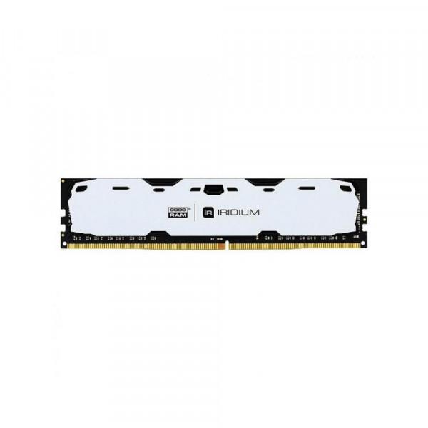 Модуль памяти Goodram DDR4 8 Gb 2400 MHz CL15 SR IRDM 1024x8 White  (IR-W2400D464L15S/8G)