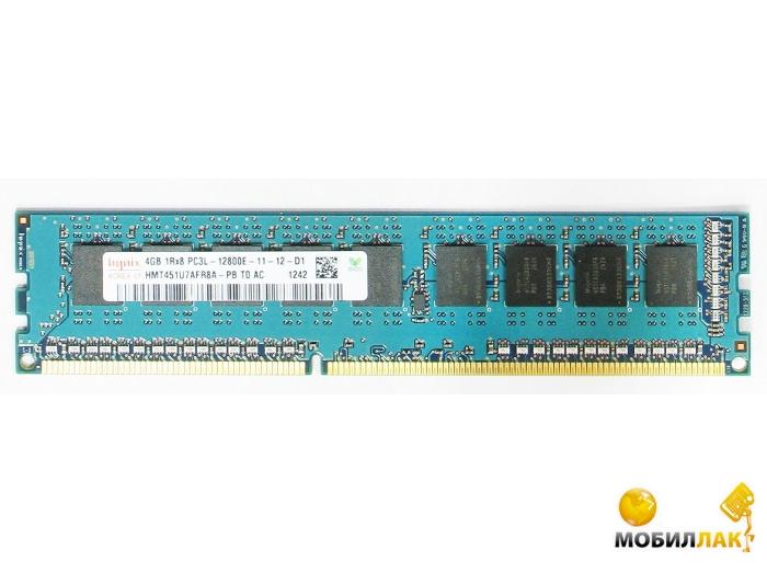 Hynix DDR3 4GB 1600MHz (HMT451U7AFR8A-PB) MobilLuck.com.ua 756.000