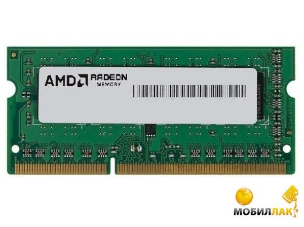 AMD DDR3 8GB 1333 SO-DIMM BULK (R338G1339S2S-UGO) MobilLuck.com.ua 1200.000