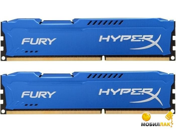Kingston 8Gb DDR3 1866MHz HyperX Fury Blu (2x4GB) MobilLuck.com.ua 1373.000