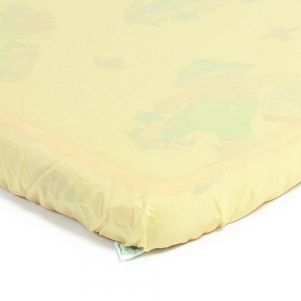 Эко-Пупс Детский Непромокаемый Чехол Premium ПНАМЧ12565ж 65х125 см Желтый Эко-Пупс