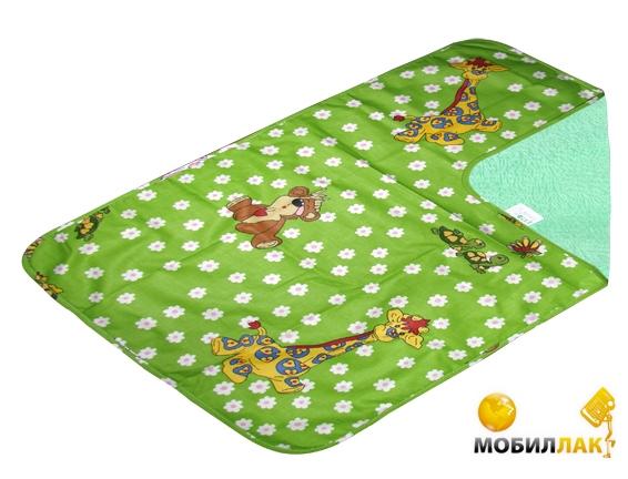 Эко-Пупс Многоразовая пеленка Classic (бязь), 50x70 см зеленый Эко-Пупс