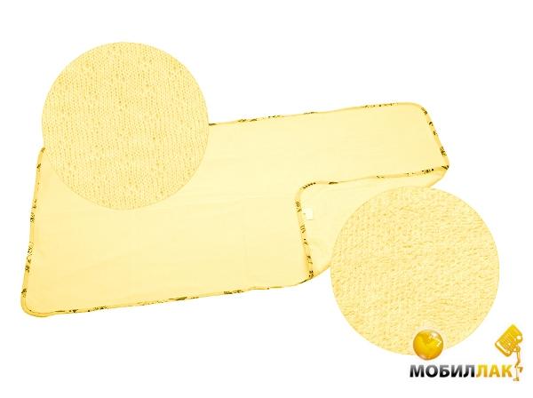 Эко-Пупс Многоразовая пеленка Classic (трикотаж), 65x90 см желтый Эко-Пупс