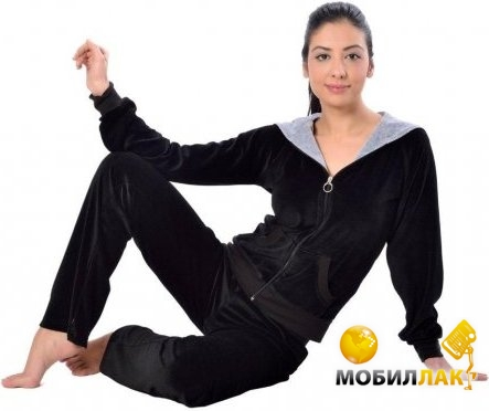 Arya женский на молнии 13300 Xxxl черный (8690000014330) MobilLuck.com.ua 738.000