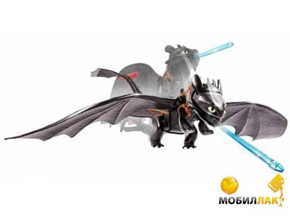 Коллекционная фигурка Spin Master Как приручить дракона - дракон Беззубик с механической функцией (S