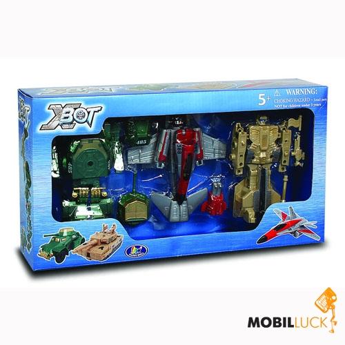 X-bot Набор Робот-трансформер, Танк, Самолет (82040R) X-bot